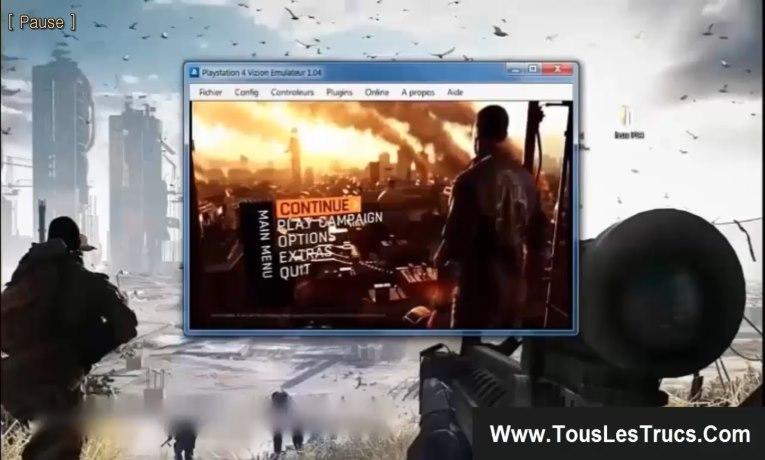 Emulateur PS4
